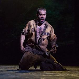 3. Ramin Karimloo as Valjean - photo Matthew Murphy
