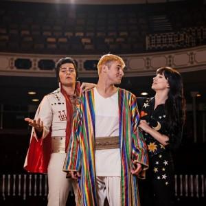 1Joseph-and-the-Amazing-Technicolor-Dreamcoat-Matt-Lapinskas-as-Pharaoh-Lloyd-Daniels-as-Joseph-and-Danielle-Hope-as-Narrator-credit-Darren-Bell.jpg