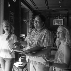 Emma Odell, Kris Olsen and Corrine Priest in God!