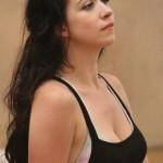 Danielle Hope in rehearsal