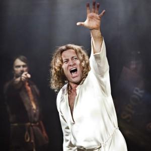 Jesus Christ Superstar 2015 UK Tour - Glenn Carter as Jesus Christ (3) - credit Pamela Raith Photography