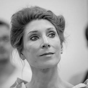 Valerie Cutko (Raffaela) in Grand Hotel at the Southwark Playhouse. Picture: Ian McGlasham