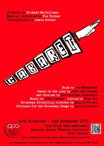 cabaret poster A4