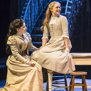 Rebecca Trehearn (Julia La Verne) and Gina Beck (Magnolia Hawks) in Show Boat. Photo credit Johan Persson