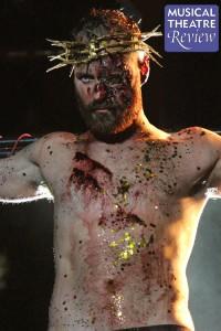 Declan Bennett in Jesus Christ Superstar at Regent's Park Open Air Theatre. Picture: Roy Tan