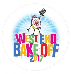 2017 West End Bake Off Logo. Credit Martin Smith, Origin8 Design