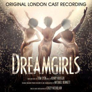 Dreamgirls Original London Cast Recording Album Cover Artwork