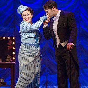 Funny Girl UK Tour Sheridan Smith (Fanny Brice) & Chris Peluso (Nick Arnstein) Photo Credit Paul Coltas