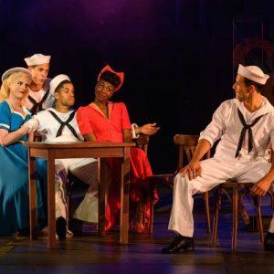 Lizzy Connolly (Hildy), Samuel Edwards (Ozzie), Jacob Maynard (Chip), Miriam-Teak Lee (Claire), Danny Mac (Gabey)