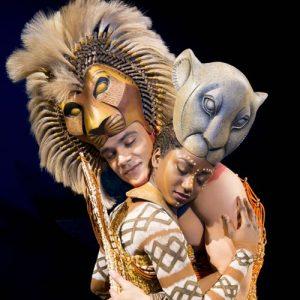 'The Embrace' - Nick Afoa as Simba, Janique Charles as Nala 2017 ©Disney